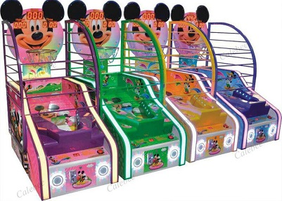 children basketball arcade game lottery redemption game machine indoor mickey type